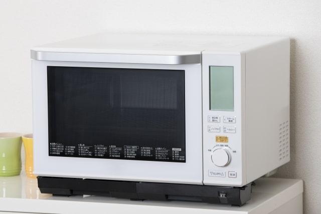 ハウスクリーニングのクリナークの電子レンジ掃除画像